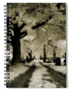 Invisible Light Spiral Notebook