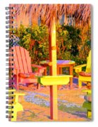 Invitation To Florida Sunset Spiral Notebook