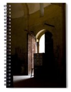 Invitation To The Templar Church Spiral Notebook