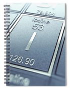 Iodine Chemical Element Spiral Notebook