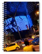 Ion Orchard At Night 01 Spiral Notebook