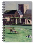 Iona Abbey From The Northwest Spiral Notebook