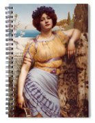 Ionian Dancking Girl Spiral Notebook