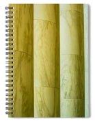 Ionic Architectural Columns Details Spiral Notebook