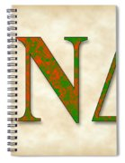 Iota Nu Delta - Parchment Spiral Notebook