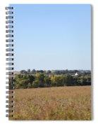 Iowa Fields Spiral Notebook