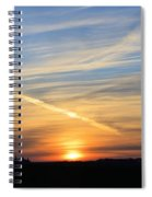 Iowa Sunrise Spiral Notebook