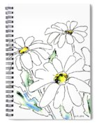 iPhone-Case-Flower-Daisy2 Spiral Notebook
