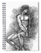 iPhone-Case-Nude-Male1 Spiral Notebook