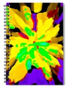 Iphone Cases Colorful Flowers Abstract Roses Gardenias Tiger Lily Florals Carole Spandau Cbs Art 182 Spiral Notebook