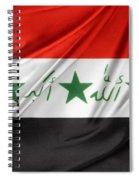 Iraq Flag Spiral Notebook