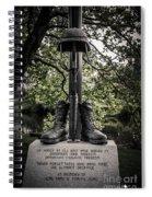 Iraqui Freedom Memorial Spiral Notebook