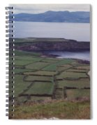 Ireland Emerald Isle Fields By Jrr Spiral Notebook