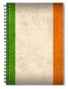 Ireland Flag Vintage Distressed Finish Spiral Notebook