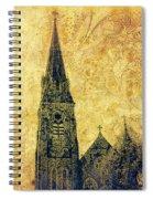 Ireland St. Brendan's Cathedral Spire Spiral Notebook