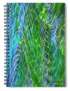 Iridescence Spiral Notebook