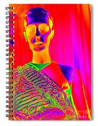 Iridescent Beauty Spiral Notebook