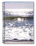 Iridescent Waves Spiral Notebook