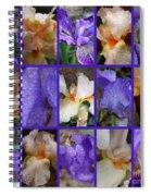 Iris Collage Spiral Notebook