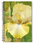 Iris County Cork Spiral Notebook