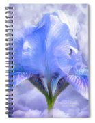 Iris - Goddess In The Moonlite Spiral Notebook
