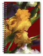 Iris In The Rough Spiral Notebook