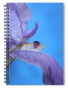 Iris Oasis Spiral Notebook