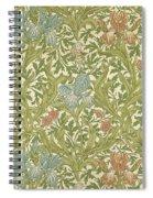 Iris Pattern Spiral Notebook