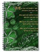 Irish Blessing Spiral Notebook