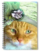 Irish Cat Spiral Notebook