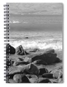 Irish Coast Spiral Notebook