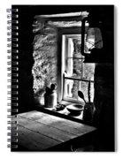 Irish Cottage Window Spiral Notebook