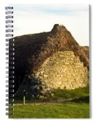 Irish Hut Spiral Notebook