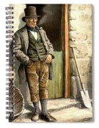 Irish Peasant Farmer Spiral Notebook