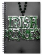 Irish Princess Spiral Notebook