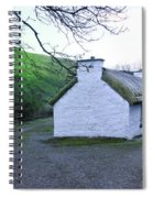 Irish Thatched Roof Cottage Spiral Notebook