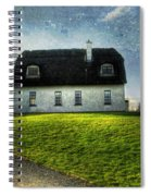 Irish Thatched Roofed Home Spiral Notebook