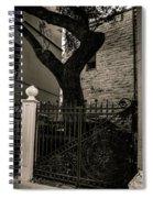 Iron And Bark Spiral Notebook
