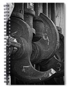 Iron And Wood Spiral Notebook