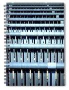 Iron Benches Spiral Notebook