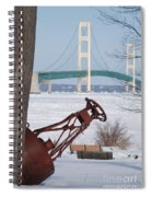 Iron Buoy And Mighty Mac Spiral Notebook