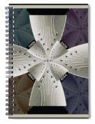 Iron Cross Ironic Cross Spiral Notebook