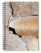 Iron Curtain Cracking Spiral Notebook