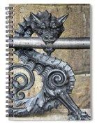Iron Dragon Spiral Notebook