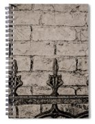 Iron Fence - New Orleans Spiral Notebook