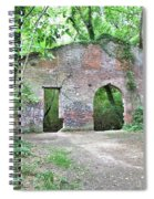 Iron Foundry Ruins Spiral Notebook