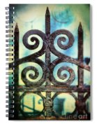 Iron Gate Detail Spiral Notebook
