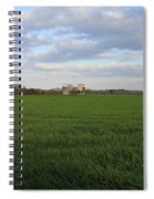 Great Friends Iron Horse Wheat Field And Silos Spiral Notebook