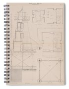 Iron Lighthouse Spiral Notebook
