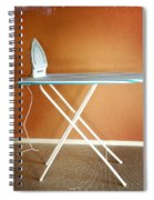 Iron On Board Spiral Notebook